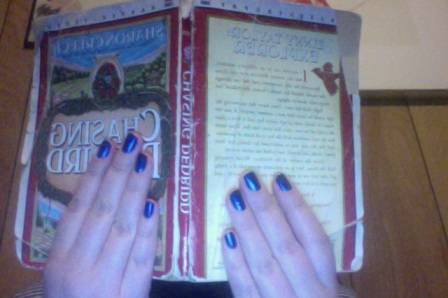 This is the same copy I've had since fifth grade.  Also, TARDIS blue nails.