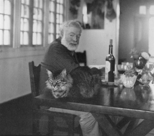 And Hemingway was a successful writer...