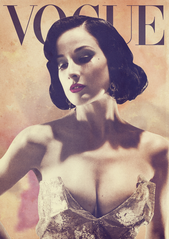 Have boobs like this Vogue cover or die!